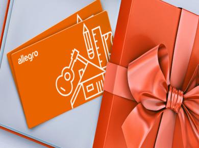 Karta Podarunkowa Allegro